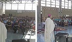 Monseñor Vargas presidió misa de Gloria en penal ariqueño