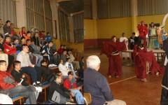 Clausura del año escolar en el Liceo Caupolicán de Concepción