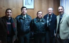 Una grata reunión con Gendarmería