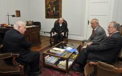 Reunión con el Cardenal Sr. Francsco Javier Errázuriz