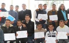 Entrega de Certificados Cursos de Gestión y Electricidad – Colina I