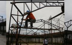 Liceo Caupolicán en Reconstrucción