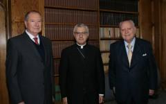 Directiva de CORESOL se reunió con Nuncio Apostólico