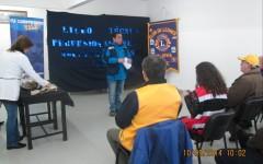 Club De Leones de Valdivia Y Día Mundial de la Vista