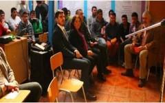 Acto de finalización 1er semestre en CORESOL LIMACHE