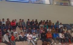 Ceremonia de término 1er semestre en liceo Antofagasta.