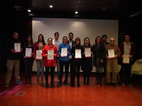 """Agrupación folclórica coral """"Renacer"""" del Liceo Antofagasta, se adjudica proyecto de Fundación Minera Escondida."""